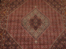 Load image into Gallery viewer, 6'11'' X 10'3'' Persian Beijar Medallion Semi-Antique Rust Rectangle Wool Rug - Direct Rug Import | Rugs in Chicago, Indiana,South Bend,Granger