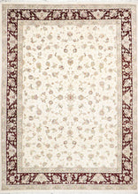 "Load image into Gallery viewer, 8'10""x12'4"" Traditional Tabriz Wool & Silk Rug"
