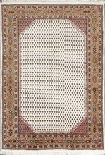"Load image into Gallery viewer, 5'9""X7'11"" Decorative Ivory Heriz Wool Hand-Knotted Rug"
