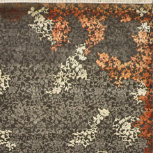 "Load image into Gallery viewer, 9'x12'3"" Transitional Gray Wool & Silk Hand-Knotted Rug"