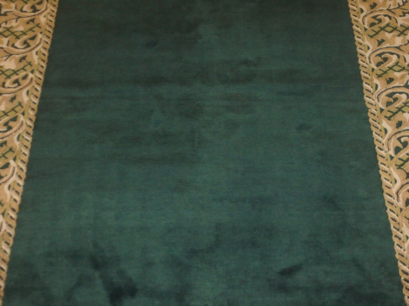 5'6'' X 8'2'' Abusson Frame Traditional Hand-knotted Gold Rectangle Wool Rug