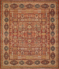 "Load image into Gallery viewer, 8'X9'7"" Classic Antique Hand-Knotted Rug"