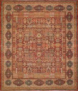 "8'X9'7"" Classic Antique Hand-Knotted Rug"