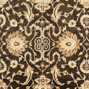 "8'2""x10'3"" Traditional Wool Hand-Knotted Rug"