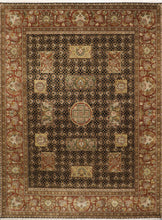 "Load image into Gallery viewer, 9'x12'1"" Decorative Polynesian Wool Rug"