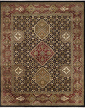 "Load image into Gallery viewer, 8'1""x10'2"" Decorative Kashan Wool Hand-Knotted Rug"
