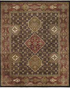 "8'1""x10'2"" Decorative Kashan Wool Hand-Knotted Rug"