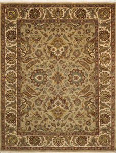 "9'1""x11'9"" Traditional Kashan Wool Rug - Direct Rug Import 