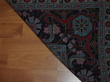 Load image into Gallery viewer, 6'6'' X 9'7'' Persian Serapi Floral Geometric Medallion Traditional Hand-knotted Ivory,Peach Rectangle Wool Rug - Direct Rug Import | Rugs in Chicago, Indiana,South Bend,Granger
