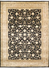 "Load image into Gallery viewer, 8'5""x11'5"" Traditional Tabriz Wool & Silk Hand-Knotted Rug"
