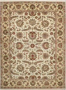 "9'x12'3"" Traditional Wool Hand-Knotted Rug"