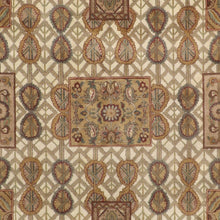 "Load image into Gallery viewer, 8'3""x10'7"" Decorative Tan Polynesian Wool Hand-Knotted Rug"