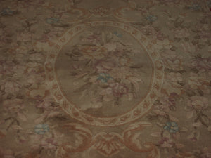 5' X 7'1'' Abusson Gold Floral Traditional Hand-knotted Red,Rust,Beige Rectangle Wool Rug - Direct Rug Import | Rugs in Chicago, Indiana,South Bend,Granger