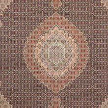 "Load image into Gallery viewer, 8'4""x11'2"" Traditional Mahi Tabriz Wool Hand-Knotted Rug"
