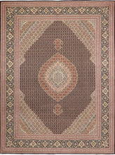 "Load image into Gallery viewer, 8'4""x11'2"" Traditional Mahi Tabriz Wool Hand-Knotted Rug - Direct Rug Import 