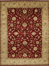"Load image into Gallery viewer, 8'11""x12'1"" Traditional Kashan Wool Hand-Knotted Rug - Direct Rug Import 