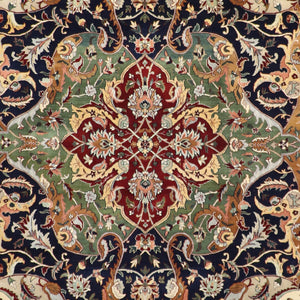 "8'3""x10'2"" Traditional Wool Hand-Knotted Rug"