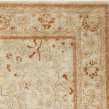 "Load image into Gallery viewer, 8'x10'2"" Decorative Rust Wool Hand-Knotted Rug"