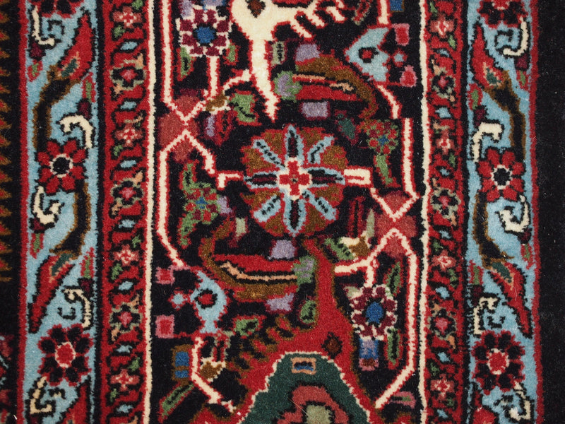 6'8'' X 9'9'' Persian Bijar Medallion Semi-Antique Rust Rectangle Wool Rug - Direct Rug Import | Rugs in Chicago, Indiana,South Bend,Granger
