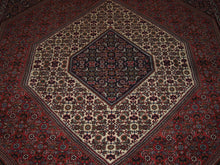 Load image into Gallery viewer, 6'8'' X 9'9'' Persian Bijar Medallion Semi-Antique Rust Rectangle Wool Rug - Direct Rug Import | Rugs in Chicago, Indiana,South Bend,Granger