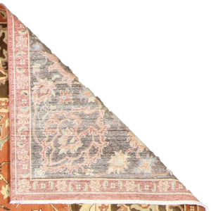 "8'3""x10'4"" Classic Traditional Wool Hand-Knotted Rug"