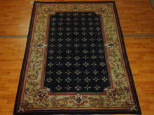 Load image into Gallery viewer, 5'1'' X 8' Abusson Frame Traditional Hand-knotted Gold,Pink Rectangle Wool Rug - Direct Rug Import | Rugs in Chicago, Indiana,South Bend,Granger