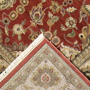 "8'10""x11'10"" Traditional Wool Hand-Knotted Rug"
