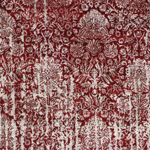 "Load image into Gallery viewer, 8'10""x11'8"" Transitional Red Wool & Silk Hand-Knotted Rug"