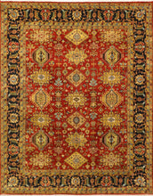 "Load image into Gallery viewer, 7'10""x9'11"" Traditional Wool Hand-Knotted Rug"