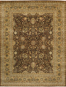 "8'11""x11'10"" Traditional Wool Hand-Knotted Rug"