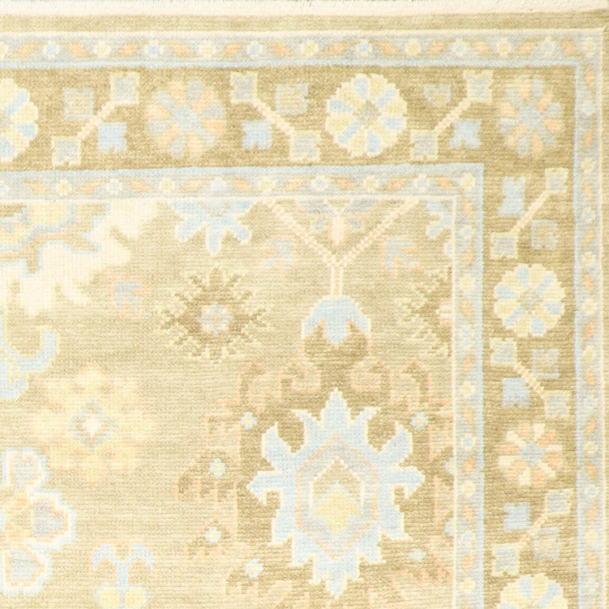 8 3 X10 5 Oshak Green Wool Hand Knotted Rug Rug Import Rugs In Chicago Indiana South Bend Granger