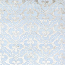 "Load image into Gallery viewer, 9'1""x11'9"" Contemporary Overall Blue Wool & Silk Hand-Knotted Rug"