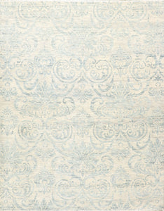 "8'1""x10'4"" Transitional Wool Hand-Knotted Rug"