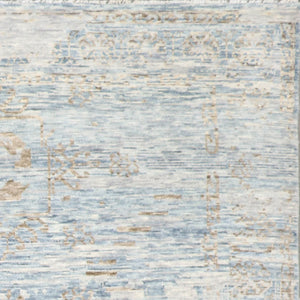 8'x10' Contemporary Wool Hand-Knotted Rug