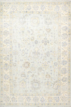 "Load image into Gallery viewer, 8'2""x12'4 Classic Decorative Gray-Blue Wool Hand-Knotted Rug"
