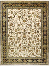 "Load image into Gallery viewer, 8'8""x11'7"" Traditional Tabriz Wool & Silk Hand-Knotted Rug - Direct Rug Import 