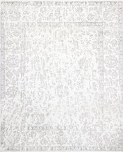 "Load image into Gallery viewer, 7'10""x9'8"" Transitional Wool & Silk Hand-Knotted Rug"