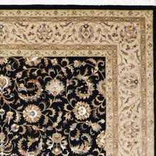 "Load image into Gallery viewer, 8'11""x11'10"" Traditional Kashan Rug Wool & Silk Hand-Knotted Rug"