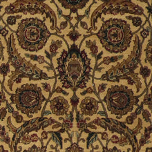 "Load image into Gallery viewer, 4'x6'2"" Decorative Gold Wool Hand-Knotted Rug - Direct Rug Import 