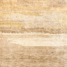 "Load image into Gallery viewer, 6'5""x8'9"" Contemporary Brown Bamboo Silk Hand-Knotted Rug"