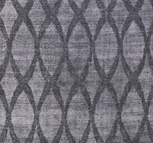 "Load image into Gallery viewer, 4'10""x6'4"" Transitional Gray Silk Hand-Knotted Rug - Direct Rug Import 