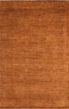 "Load image into Gallery viewer, 5'3""x8'3"" Contemporary Rust Wool Hand-Knotted Rug"