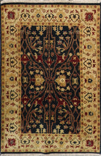 Load image into Gallery viewer, 4'x6' Traditional Charcoal Wool Hand-Knotted Rug - Direct Rug Import | Rugs in Chicago, Indiana,South Bend,Granger