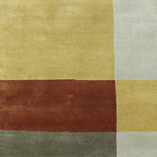 "Load image into Gallery viewer, 6'x8'10"" Contemporary Multi-Colored Nepal Wool Hand-Knotted Rug"