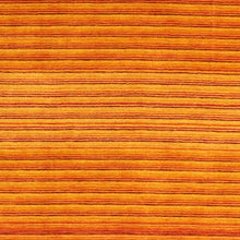 "Load image into Gallery viewer, 5'6""x8' Contemporary Orange Wool Hand-Knotted Rug"