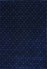 Load image into Gallery viewer, 6'x9' Gabbeh Blue Wool Hand-Knotted Rug