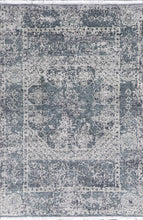 "Load image into Gallery viewer, 4'1""x6'2"" Transitional Gray Wool Hand-Knotted Rug - Direct Rug Import 