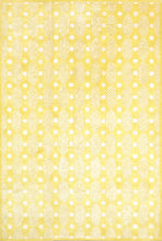 Load image into Gallery viewer, 6'x9' Contemporary Yellow Wool & Silk Hand-Tufted Rug - Direct Rug Import | Rugs in Chicago, Indiana,South Bend,Granger
