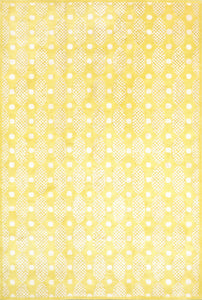 6'x9' Contemporary Yellow Wool & Silk Hand-Tufted Rug - Direct Rug Import | Rugs in Chicago, Indiana,South Bend,Granger