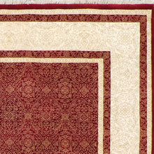 "Load image into Gallery viewer, 4'8""x6'7"" Traditional Red Wool Hand-Knotted Rug - Direct Rug Import 